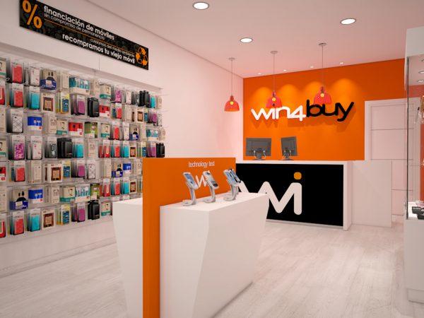 Tiendas de telefonia WIN4BUY.