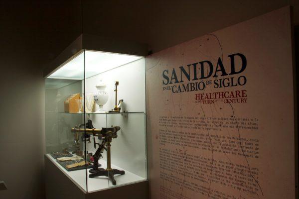 Capilla y cripta del hospital de los Marqueses de Linares.